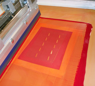 Cellotape Screen Printing