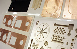 Die Cut Components Photo