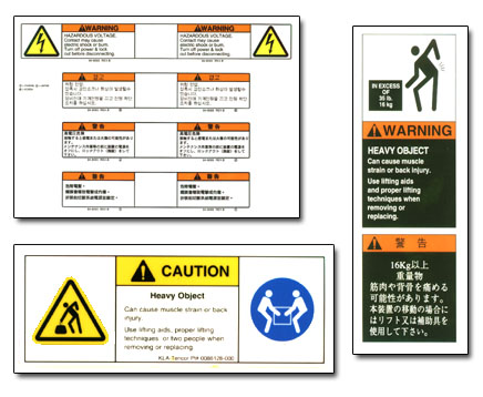 Modified Safety Label Formats